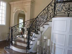 Wrought Iron Stair Railings For Creating Awesome Looking