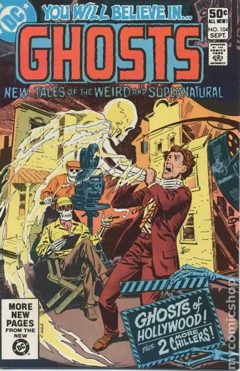 ghosts   dc comic books