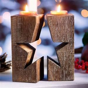 Weihnachtsdeko Aus Holz Basteln : rustikale weihnachtsdeko aus holz ~ Whattoseeinmadrid.com Haus und Dekorationen