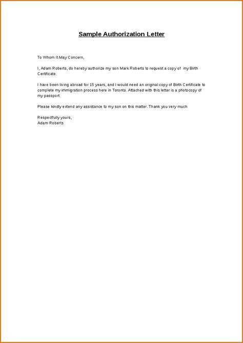 authorization  letters authorization letter  represent