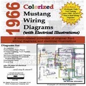 1966 Mustang Complete Wiring Diagram : cd 66 mustang colorized wiring diagram ~ A.2002-acura-tl-radio.info Haus und Dekorationen