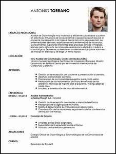Modelo Cv Auxiliar De Odontolog U00eda