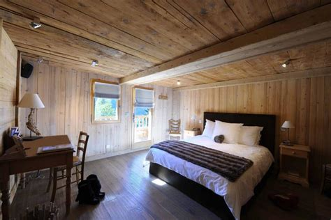 chambre style chalet deco chambre chalet
