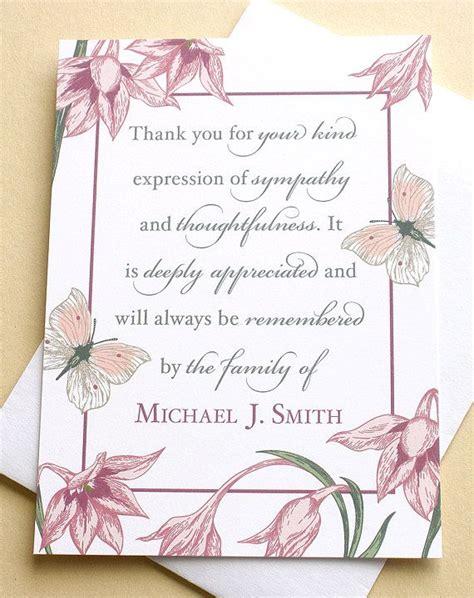 condolence   cards  flowers  butterflies