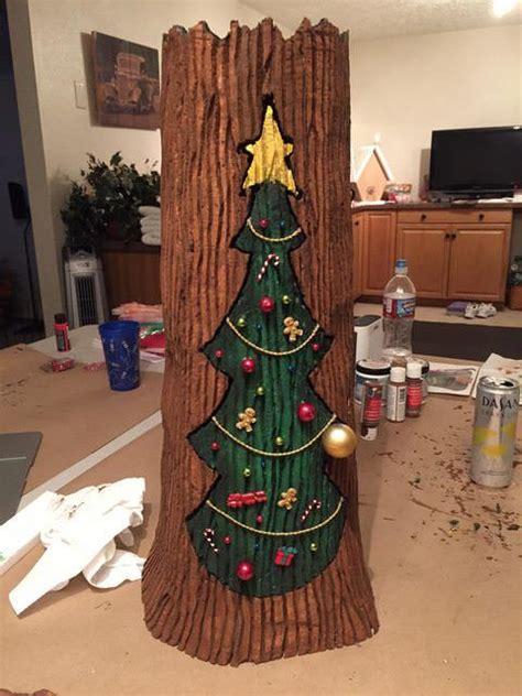static nightmare  christmas holiday door hall