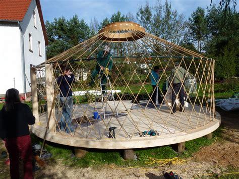 jurte selber bauen jurtenbau workshops transportable r 228 ume