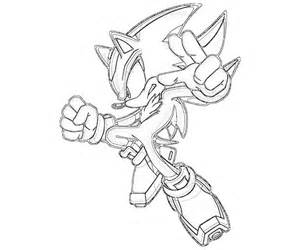 Shadow the Hedgehog Coloring Pages to Print