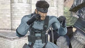 David Hayter Interpretar A Snake En Super Smash Bros