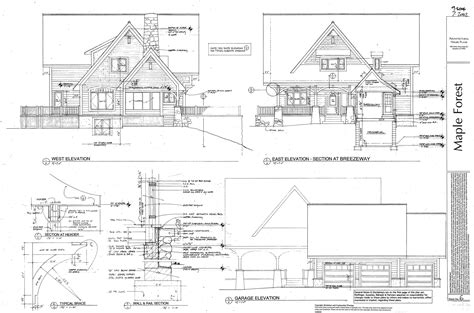 architectural plan architectural construction drawings mapo house and cafeteria