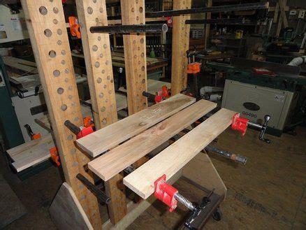 custom clampglue  station woodshop pinterest