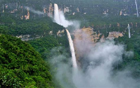 Greatest Waterfalls The World With Photos Map