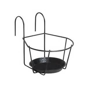 support 1 pot 248 16 cm noir castorama