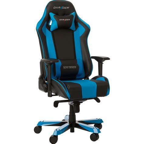 siege de gamer dxracer king ks06 bleu fauteuil gamer dxracer sur ldlc com