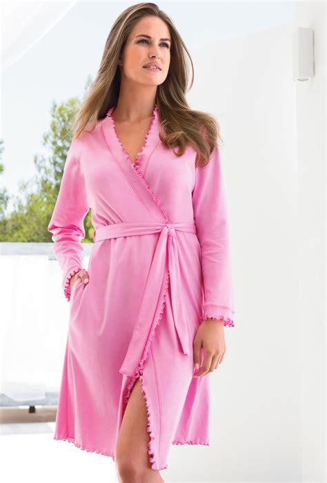Robe De Chambre En Coton Pour Femme