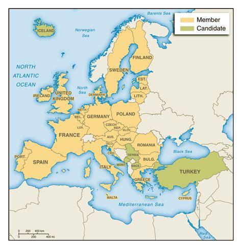 maps  europe  european countries political maps