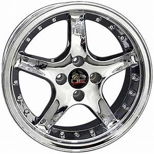 Oe Wheels 8181869: Fits Ford - Mustang 4-Lug Cobra R Wheel - Chrome 17x8
