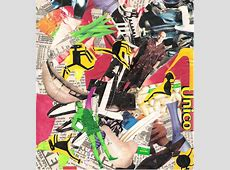 Media Collages Sculpture and Collage KinderArt