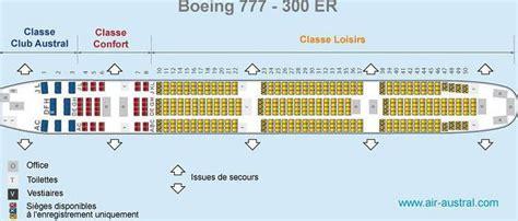 boeing 777 300er sieges places à bord d 39 un boeing 777 300er réunion voyage forum