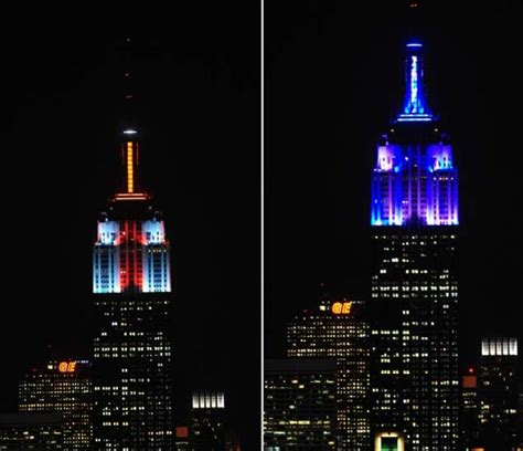 empire state building lights empire state building gets new lights ny daily news