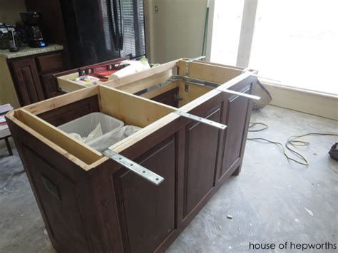 The Making Of A Kitchen Island