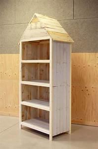 étagère En Palette : meuble de rangement en palette esprit cabane idees ~ Dallasstarsshop.com Idées de Décoration