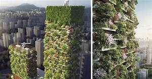 China Is Growing Vertical Forests To Help Combat Pollution ...