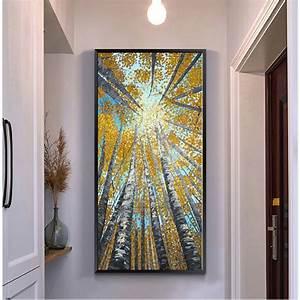 Aliexpress buy large vertical modern painting