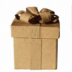 Boite En Carton À Décorer : boite carton d corer avec noeud 5x5x6 6 cm graines cr atives ~ Melissatoandfro.com Idées de Décoration