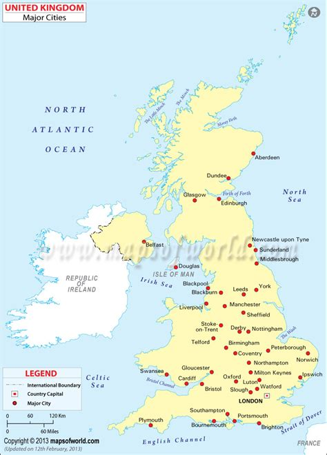 Carte Angleterre Grandes Villes by Uk Cities Map Map Of Uk Cities Cities In Map