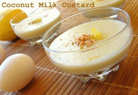 Coconut Milk Custard Recipe