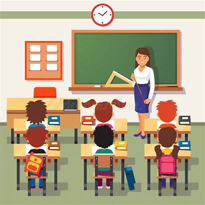 Teacher Lesson Students Classroom Desk Teachers Pupils