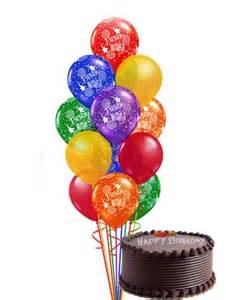 birthday gift baskets for women send birthday balloons and cake online in uae at