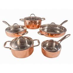 potobelo italia  piece cookware set