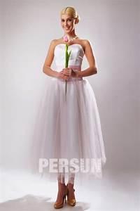 Robe Pour Temoin De Mariage : robe habill e pour t moin mariage au mollet ceinture rose ~ Melissatoandfro.com Idées de Décoration