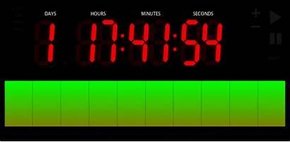 Countdown Timer Clock Bling Visual Code Screenshots