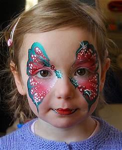 Modele Maquillage Carnaval Facile : maquillage de carnaval papillon tout pour grandir ~ Melissatoandfro.com Idées de Décoration