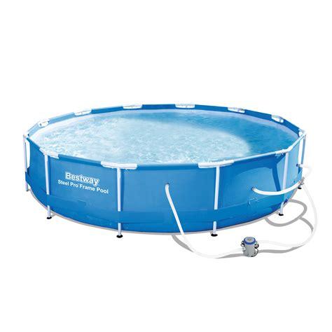 frame pool bestway bestway 12 x 30 quot steel pro frame pool set