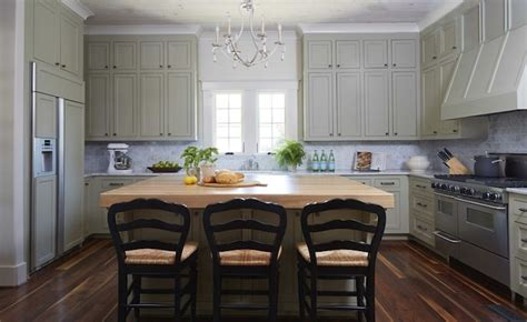 green gray kitchen cabinets country kitchen