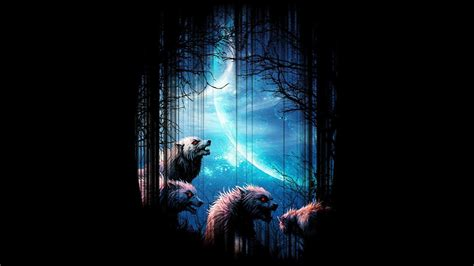 fire  ice wolf wallpaper  images