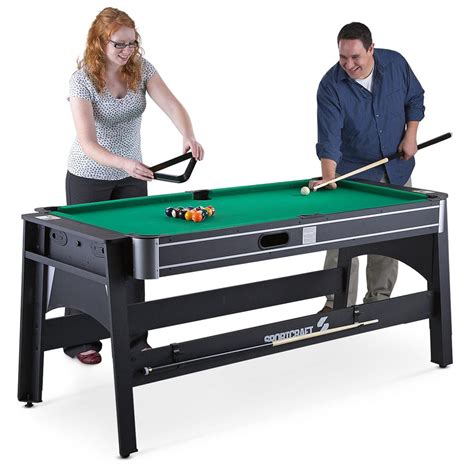 flip the table game sportcraft 4 in 1 flip game table 213257 at sportsman