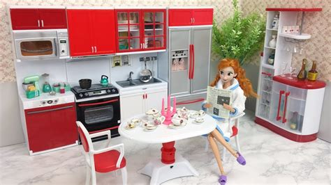 american doll kitchen table doll deluxe kitchen set with dining table set
