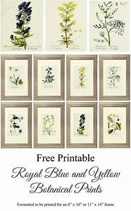 616 best fonts and printables images on pinterest With kitchen colors with white cabinets with botanical prints wall art