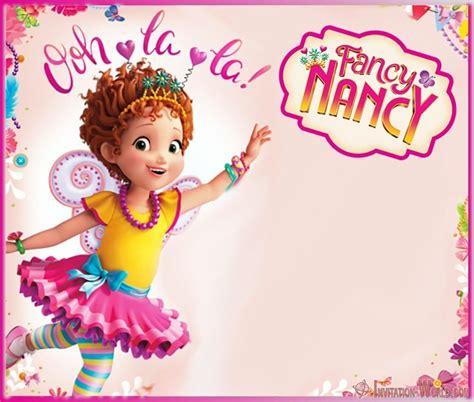 Download Fancy Nancy Invitation Templates Fancy nancy