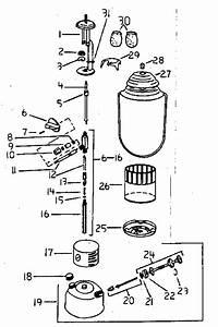 Coleman Lantern Gas Parts