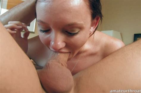Petite Amateur Girl Learns To Deep Throat