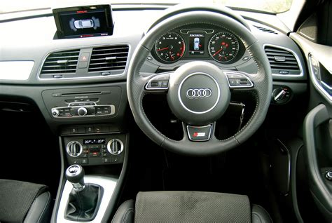 audi q3 dashboard audi q3 tfsi s line review driving torque