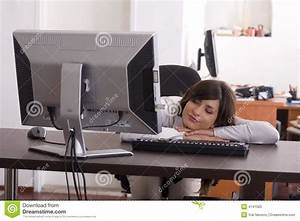 Tired At Work Stock Photos - Image: 4141583