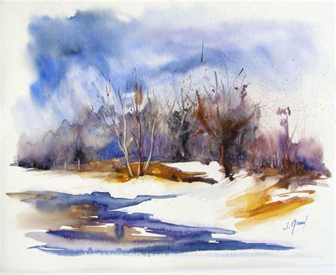 tableaux aquarelle paysages par josette marrel aquarelliste