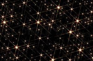 Black background blotched with shiny stars | Stock Photo ...