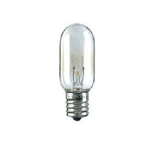 microwave light bulb for ge wb36x10003 40w 130v
